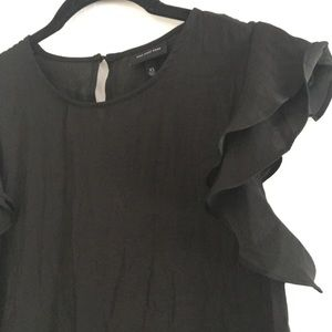 Who what wear small ruffle sleeve blouse